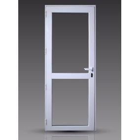 Puerta Aluminio Vidrio Y Marco Completo Aberturas Puertas Puertas De Aluminio Puertas De Aluminio Blanco Puertas De Bano Aluminio