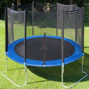 Ultrasport Jumper Trampoline De Jardin 366 Cm Avec Filet De Securite Amazon Fr Sports Et Loisirs Best Trampoline Trampoline Reviews Trampoline