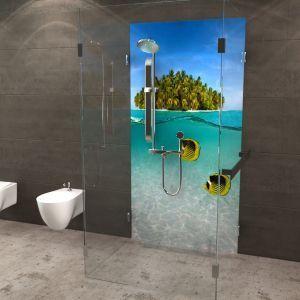 Duschruckwand Duschruckwand Dusche Badezimmerspiegel