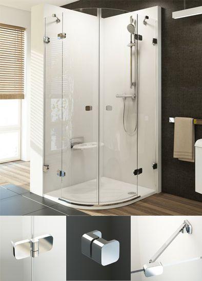 Kabina Prysznicowa Szklana Czteroelementowa Doskonalosc 100x100cm Ravak Brilliant Interior Design Interior Home Decor