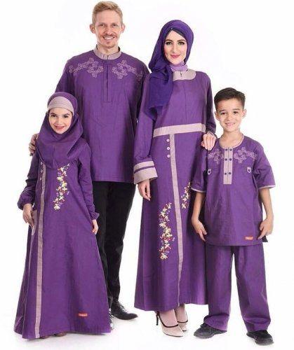 Model Baju Gamis Brokat Couple Suami Istri Model Brokat Lebaran
