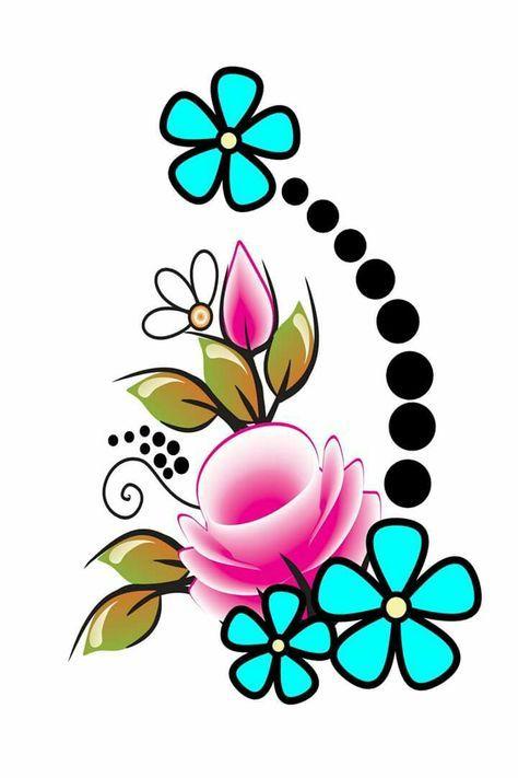 Ideas For Nails Art Sencillo Flores Em 2020 Unhas Florais Fazer