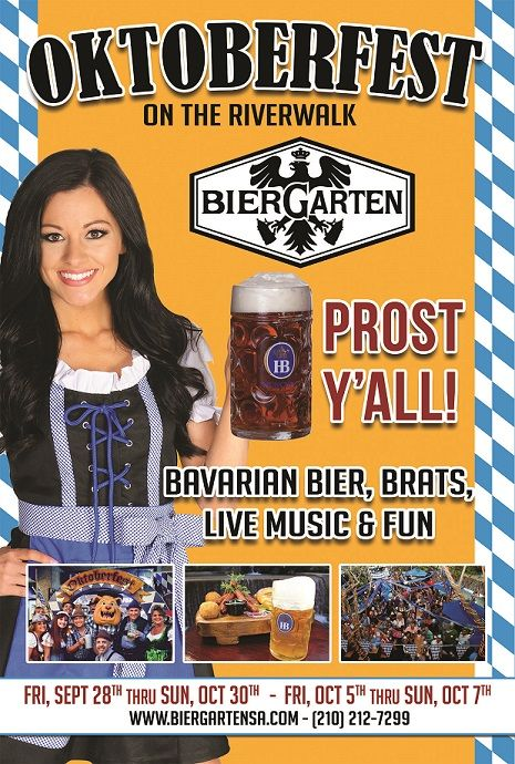 Enjoy 2 weekends of Oktoberfest 2018 activities such as