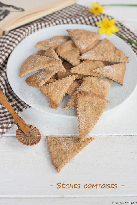 Seches Comtoises Au Fil Du Thym Recette Biscuits Recettes De Cuisine Cuisson Des Aliments