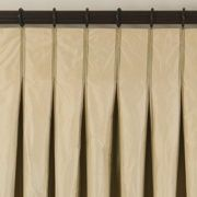 Inverted Box Pleat Curtains By Emma J Schofield Ciera S Family Room Dining Pinterest Pleated Pleats And Curtain Headings