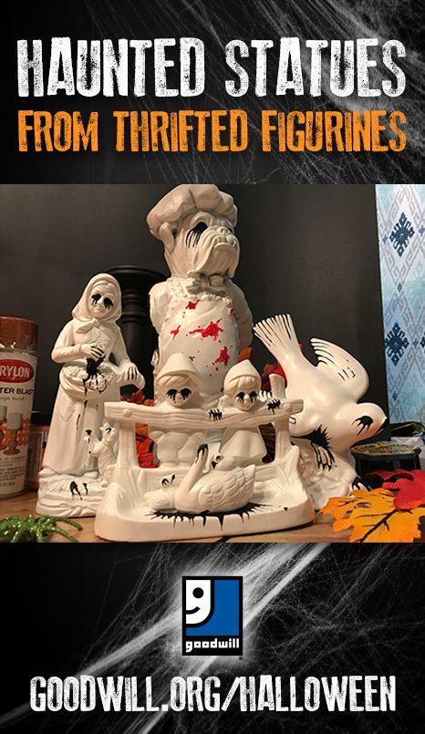 Haunted Statues Halloween Inspiration Diy Halloween Costumes Vintage Halloween
