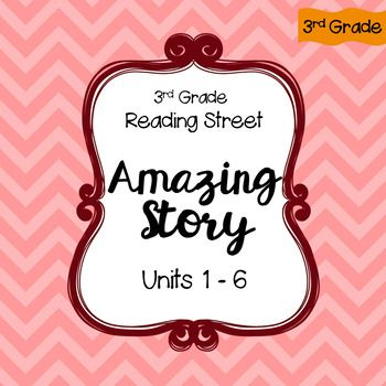 3rd Grade Reading Street Amazing Words Writing Activity