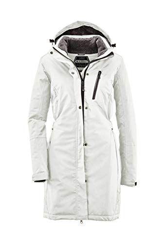 parka de invierno con capucha desmontable Mujer parka para exteriores Parka funcional Killtec Alisi