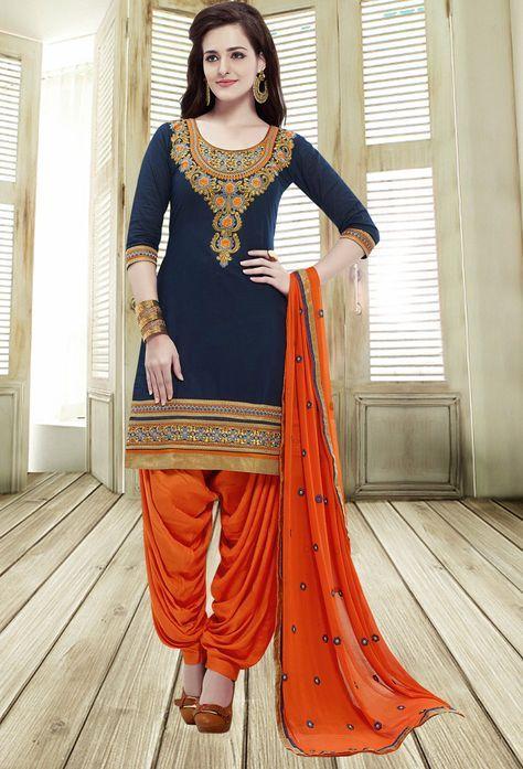 Indian Designer Anarkali Salwar Costume ethnique pakistanais traditionnel Shalwar Kameez