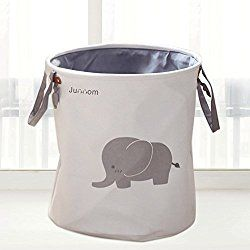 Home Decorators Collection Animal 16 In W Laundry Hamper In White