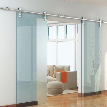 Specifications Installation Stainless Steel 304 Grade Sliding Door Hardware Kits Door Thickness Sliding Doors Interior Doors Interior Double Glass Doors