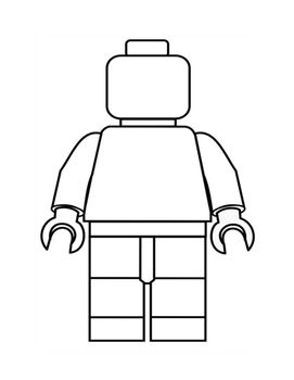 Narrative Organizer And Template My Lego Man Lego Party Lego Birthday Lego Printables