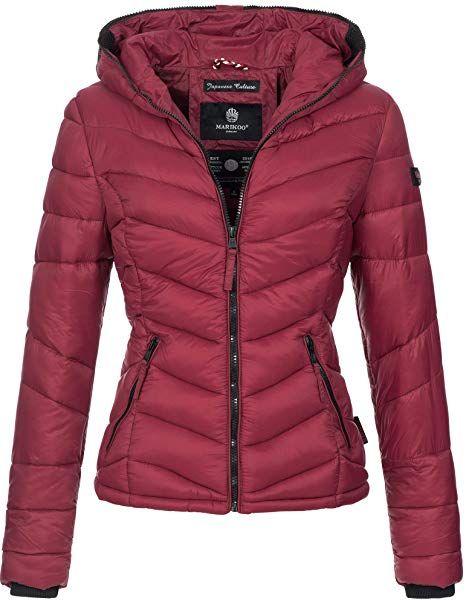 Marikoo Damen Jacke Stepp leichte Herbst Winter