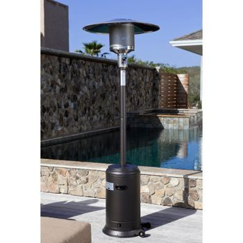 Mocha Commercial 46,000 BTU Propane Patio Heater Costco $170