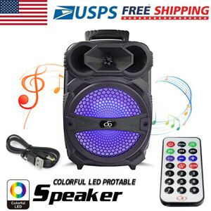 8 Party Bluetooth Speaker 1000 Watts System Led Portable Stereo Tailgate Loud Cool Bluetooth Speakers Bluetooth Speaker Speaker