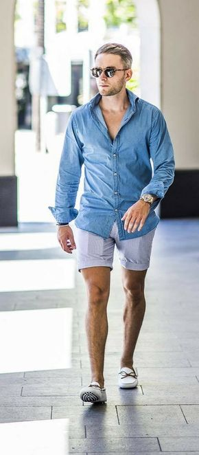 531dd509d589 15 Coolest Outfit Ideas For The Summers | beach men outfit | Cool ...