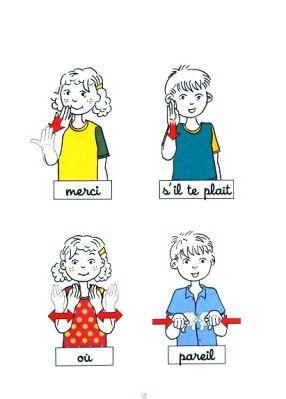 Fabuleux langage des signes bébé - Recherche Google | Signes | Pinterest  IN77