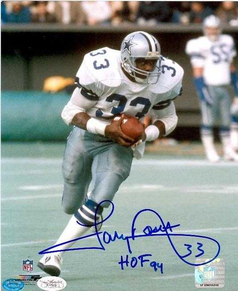 The great Tony Dorsett, Running Back for the Dallas Cowboys