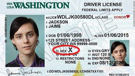 2 more states will offer a 3rd gender option on driver's licenses