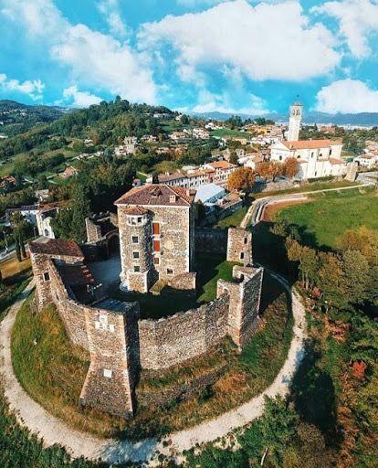 La Rocca Scaligera Di Arzignano E Un Antica Fortezza Che La