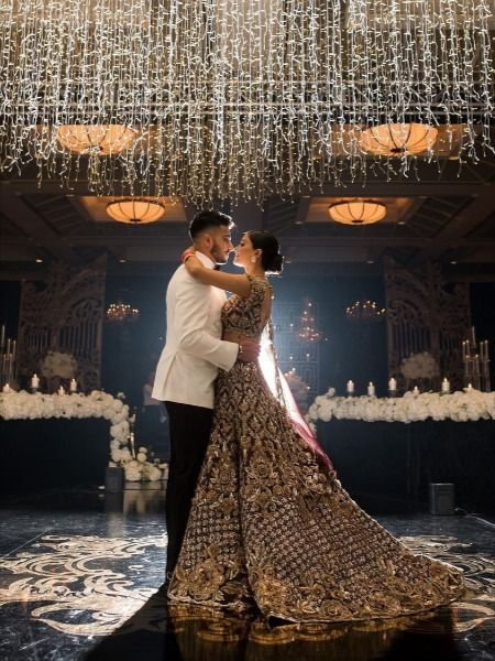Looking for Long trail Bridal Lehengas ? Check out more such bridal fashion inspiration on the blog. Click on the link attached below.    #indianweddings #shaadisaga #intimateweddings #bridalfashion #bridallehenga #longtraillehenga #indianweddingtrends #extraordinarylehenga #indianbridaltrends #elegantlehenga Wedding Lehnga, Desi Wedding Dresses, Bridal Dresses, Marathi Wedding, Punjabi Wedding, Indian Reception Outfit, Indian Bride And Groom, Bride Groom, Indian Bridal Outfits