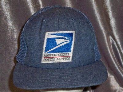 Vintage USPS Mesh Bancroft Hat Embroidered Snapback United States Postal  Service 345e1d20824