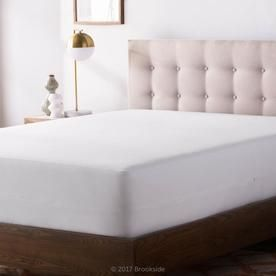 Brookside Polyester Twin Extra Long Hypoallergenic Mattress Cover
