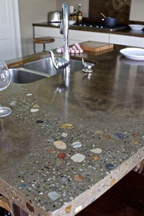 5 Artistic Cool Tricks Concrete Counter Tops Butcher Blocks Rustic Wood Kitchen Making Countertops