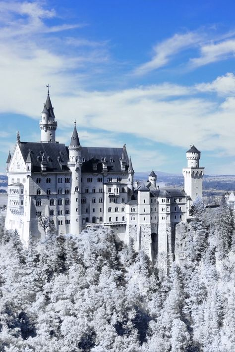 Is there anything more magical than Neuschwanstein Castle during winter?