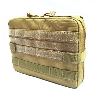 Tactical  Molle Pouch Medical Laptop Pack Hiking Toolkit Magazine Utility Bag