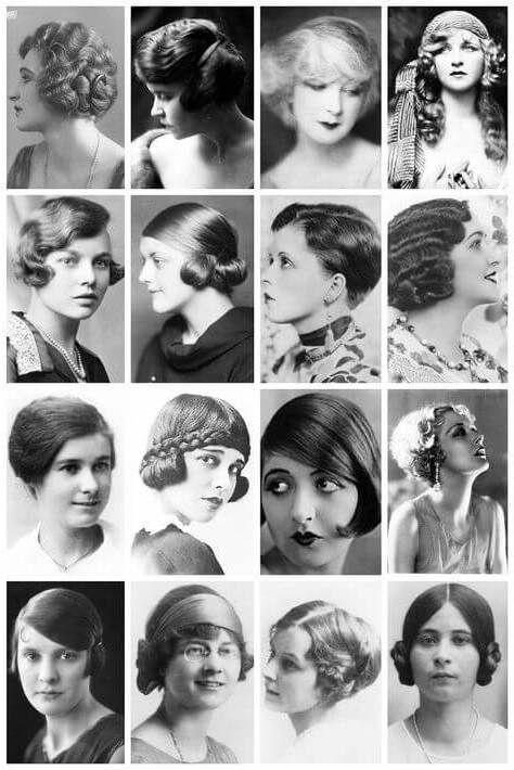 Peinados Anos 20 Antiguos V 1920s Hair Twenties Hair Y 20s Hair