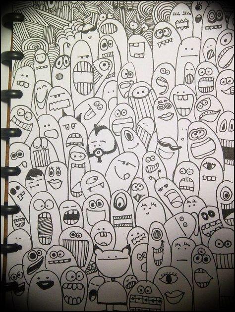 sharpie cartoon art  google search  doodle art drawings