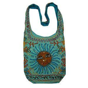Designer Clothes, Shoes & Bags for Women Summer Handbags, Summer Purses, Blue Handbags, Crossbody Shoulder Bag, Crossbody Bag, Pretty Outfits, Cool Outfits, Hippie Purse, Hippie Bags