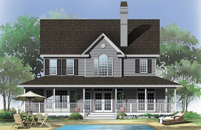 House Plan The Spaulding By Donald A Gardner Architects House Plans Farmhouse Style House Plans Dream House Plans