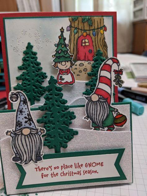 Details about  /Wooden Santa Gnome Elk Christmas Tree DIY Photo Card Clip Xmas Party Decor Trend