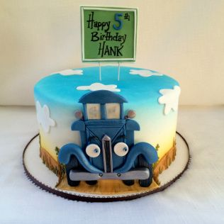 106 Best Little Blue Truck Images On Birthday Party Ideas Trucks And Cakes