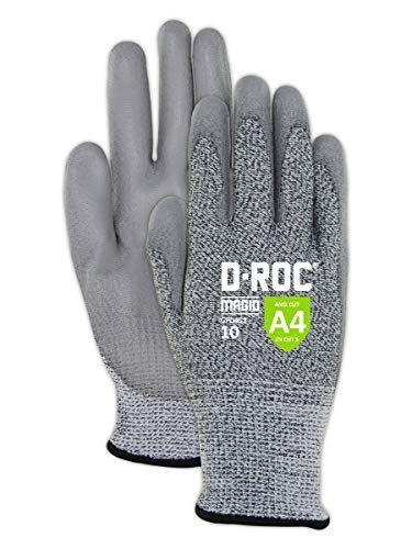 Ansi Level A4 Cut Resistance Ansi Level 5 Abrasion Resistance And Ansi Level 4 Puncture Resistance Polyurethane Palm Coating Main