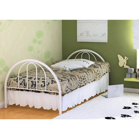 Home Kids Twin Bed Frame Metal Beds Metal Twin Bed
