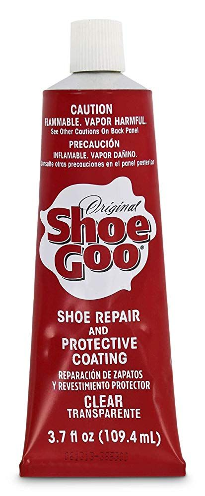 Shoe Repair And Protective Coating For Leather Vinyl Rubber Or Canvas Bonds Protects And Rebuilds For A Permanent Repair Shoe Goo Leather Glue Nice Leather