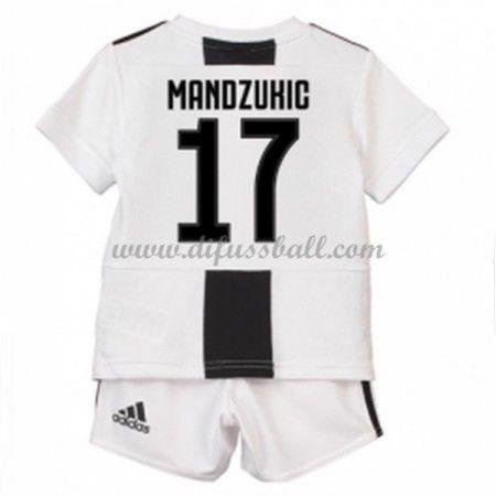 competitive price 06838 efa35 Juventus Fußballtrikots Kinder 2018-19 Mario Mandzukic 17 ...