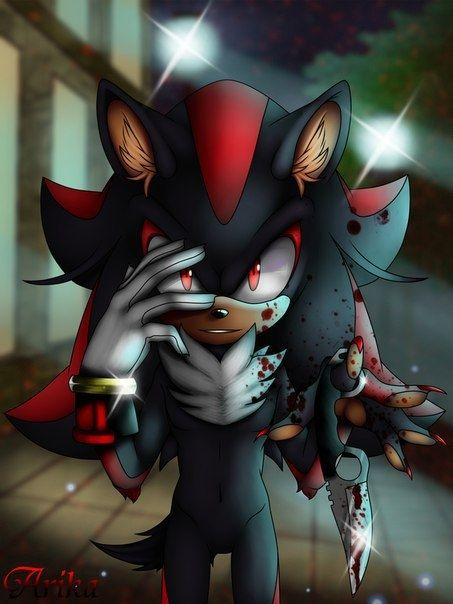 Vsem Privet Shadow The Hedgehog Sonic And Shadow Sonic Fan Art