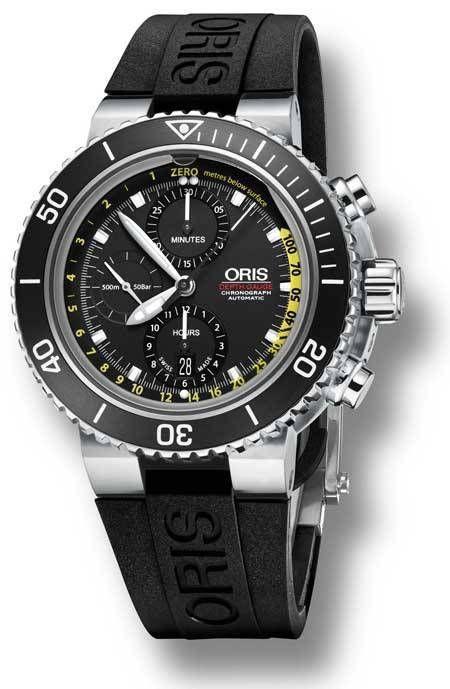 Oris Aquis Depth Gauge Chronograph | Watches, Clocks