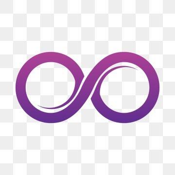 Purple Infinity Symbol Icons Vector Illustration Vector Illustration Infinity Symbol Symbols
