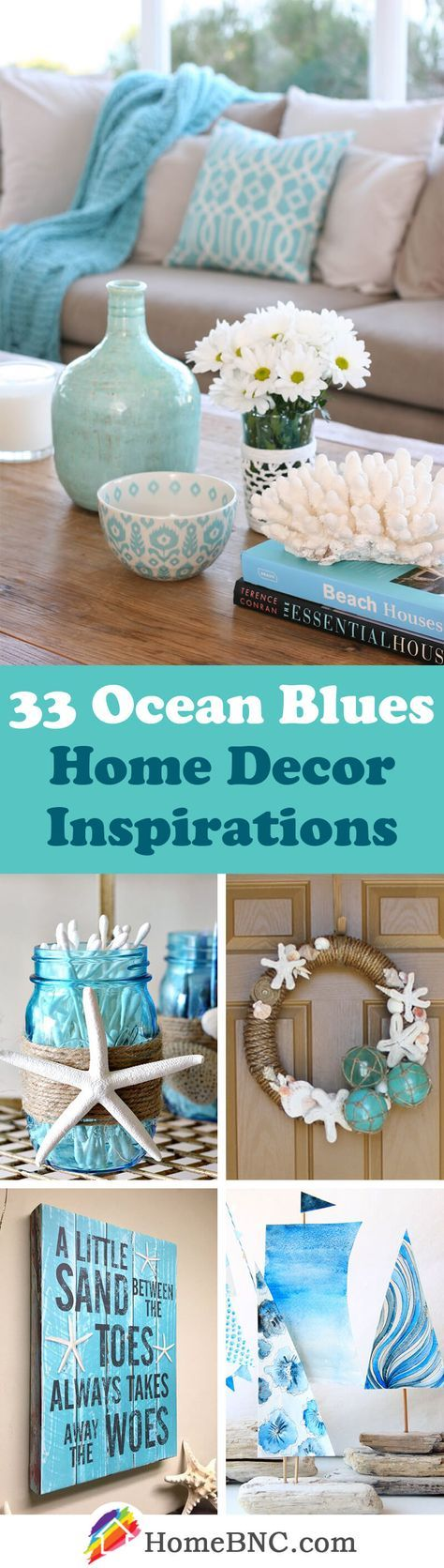 Color Me Inspired: Ocean Blues Home Decor Inspiration | Living Spaces, Ocean  And Weather