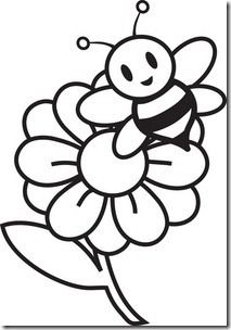 Throne Clipart Black And White Clipart Panda Free Clipart Images Flower Drawing Bee Drawing Clipart Black And White