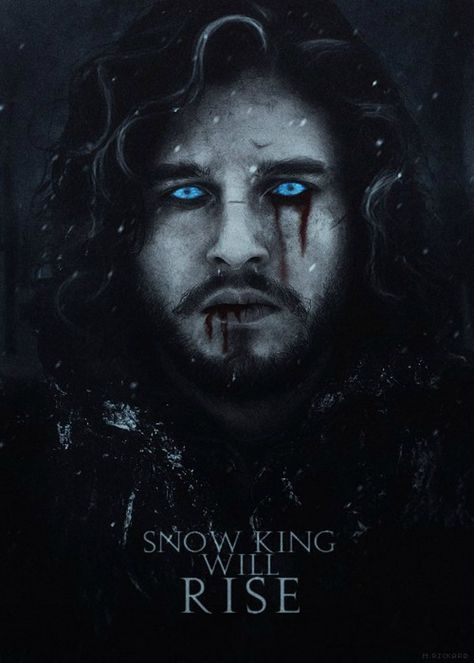Snow King Will Rise Got Art Mit Bildern Jon Snow
