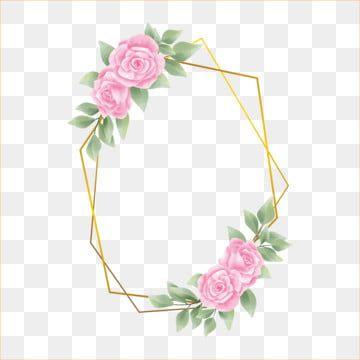 bingkai rose warna pink gaya cat air bunga floral bunga bunga png dan vektor dengan latar belakang transparan untuk unduh gratis in 2020 flower frame colorful backgrounds red and pink roses bingkai rose warna pink gaya cat air