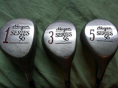 Vintage Set Hogan Series 56 Metal Woods 1 3 5 Apex 4 Stiff In 2020 Sport Shoes Vintage Hogan
