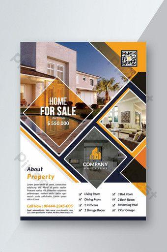قالب نشرة العقارات الحديثة Psd تحميل مجاني Pikbest Real Estate Flyer Template Real Estate Flyers Real Estate