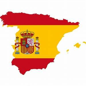 In Spain There Is A Tradition To Eat Twelve Grapes At The Stroke Of Midnight On New Years Eve It Is Believed That Whoever Map Of Spain Map Vector Flag Vector